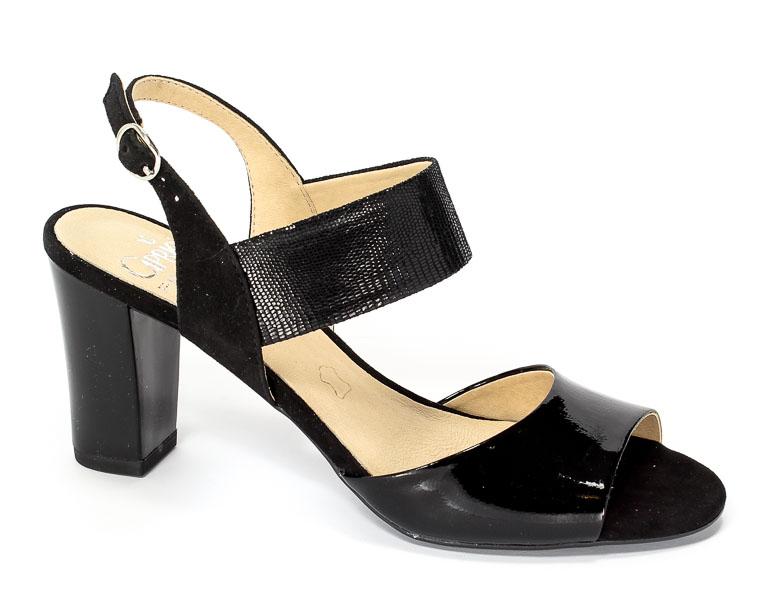Sandały Caprice 9-28307-28 020 Black Rept Com
