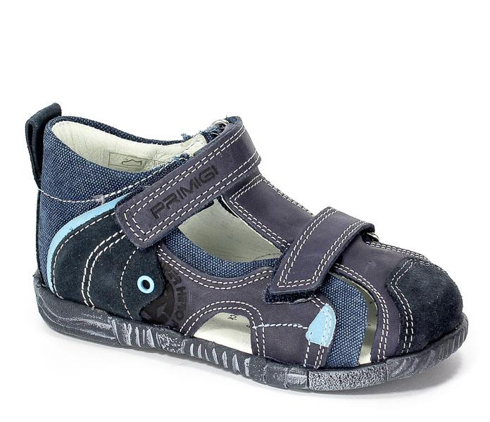 Sandały Primigi 70442/00 Vitello/Scamosc/Blue r.18-26