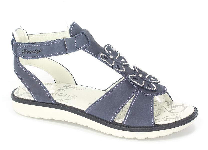 Sandały Primigi 76002/00 Nabuk Morbido/Azzurr r.25-35