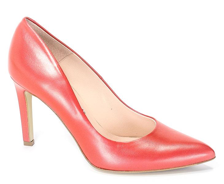 Czółenka Bravo Moda 1373 Czerwona Perła