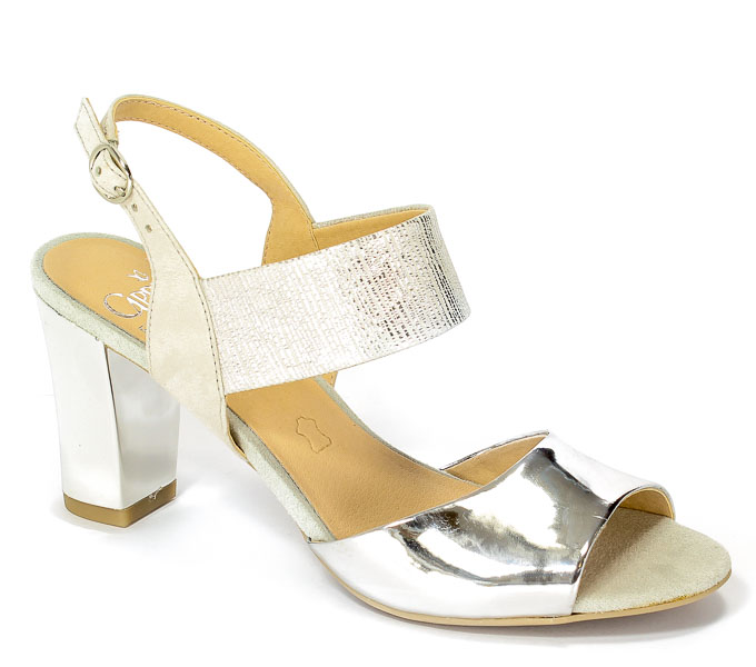 Sandały Caprice 9-28307-28 922 Silver Me.Comb