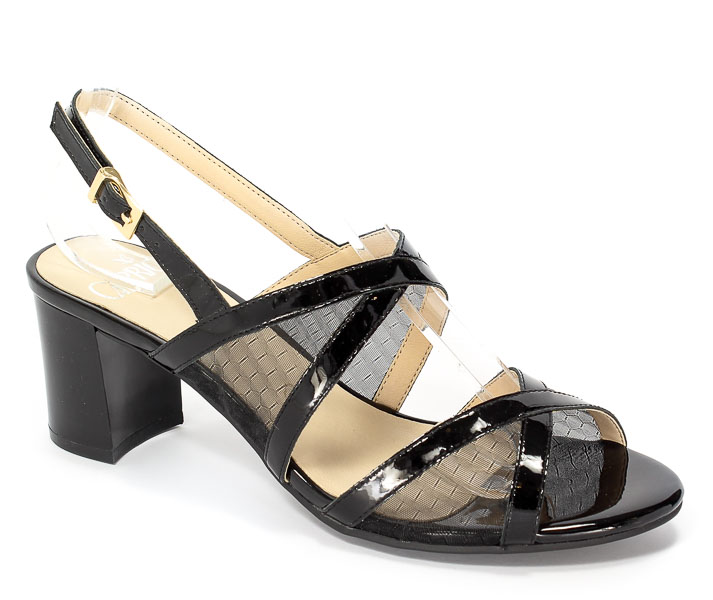Sandały Caprice 9-28300-28 019 Black Comb