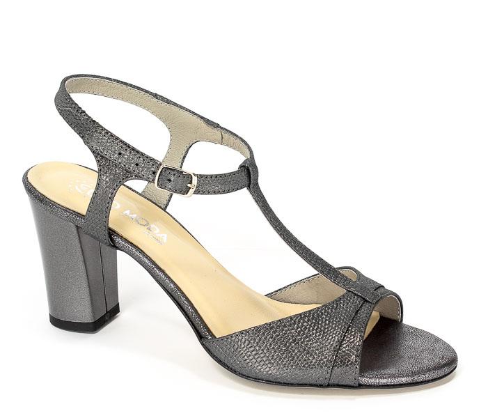 Sandały Lucca 3885 Szaro-Srebrny