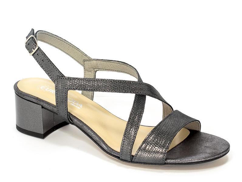 Sandały Lucca 707521 Szaro-Srebrny