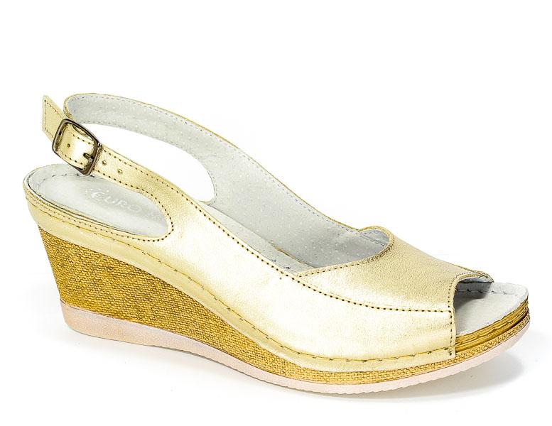Sandały Rammit 1118 Złoty L-41