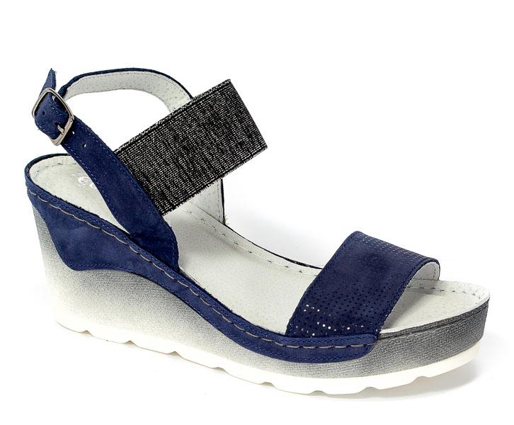 Sandały Rammit 1115 Ch-31/Ch-19 Niebieski
