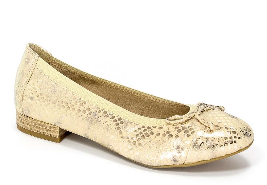 Baleriny Caprice 9-22159-28 943 Gold Metallic