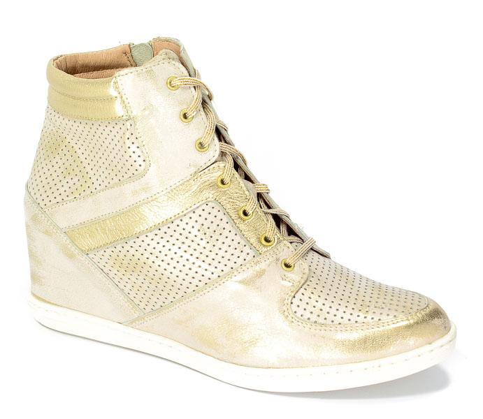 Sneakersy Eksbut 77-4451-F98/672-1G Złoty