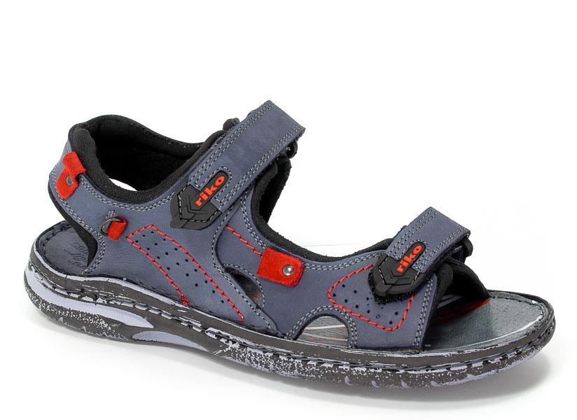 Sandały Riko 552 Nabu 15/90/Czerwone