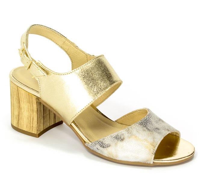 Sandały Karino 2128/074-P Złoty