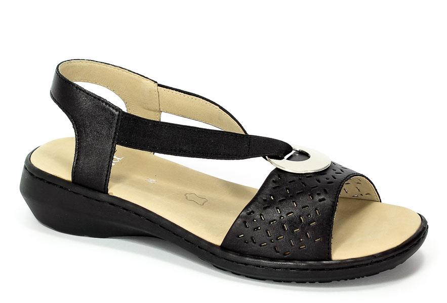 Sandały Caprice 9-28603-28 022 Black Nappa