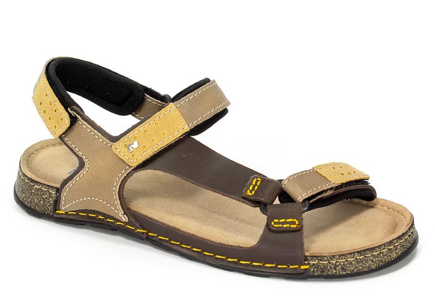 Sandały Nik 06-0163-005 Beżowy
