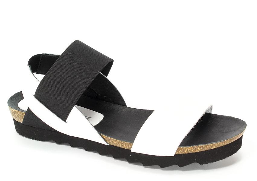 Sandały Pilar Monet 20005-1 Blanco