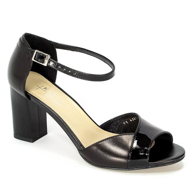 Sandały Kotyl 4321 Czarny Lico+Czarny Lakier