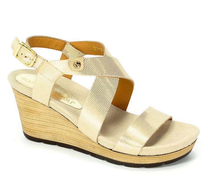 Sandały Nik 07-0303-056 Złoty