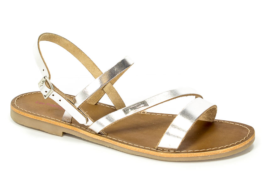 Sandały Les Tropeziennes 09506 Baden Silver
