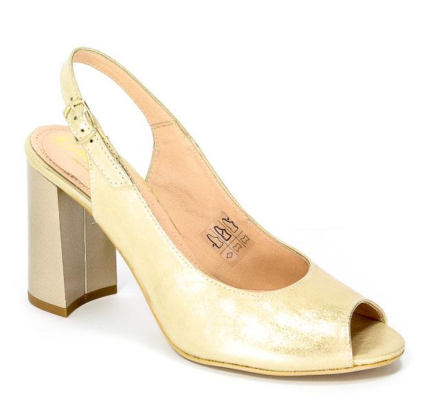 Sandały Eksbut 37-4628-I28-1G Złoto