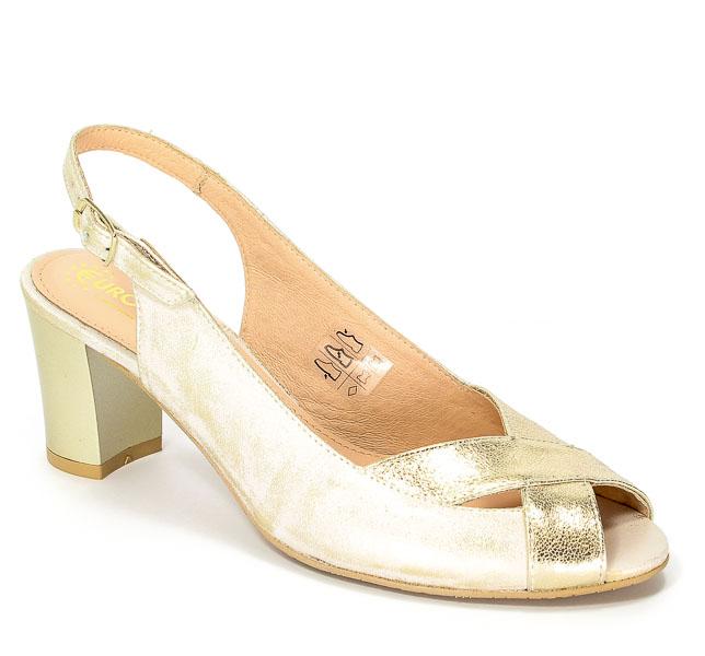 Sandały Eksbut 37-4550-672/F16-1G Złoto