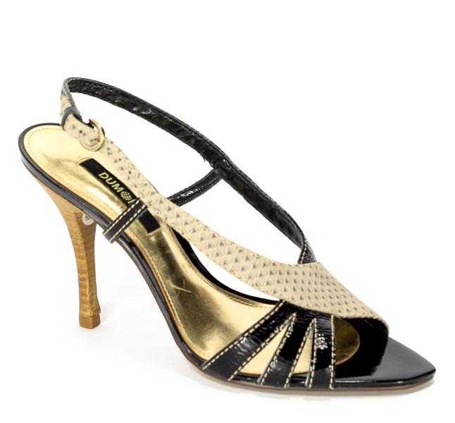 Sandały Dumond 4101573 Preto Ver Prz.