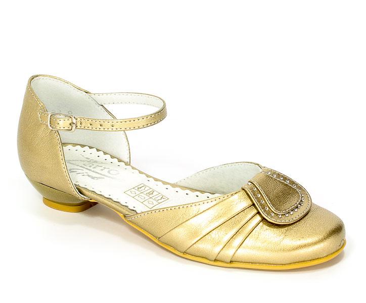 Sandały Zarro 848/12 Złoty Prz.