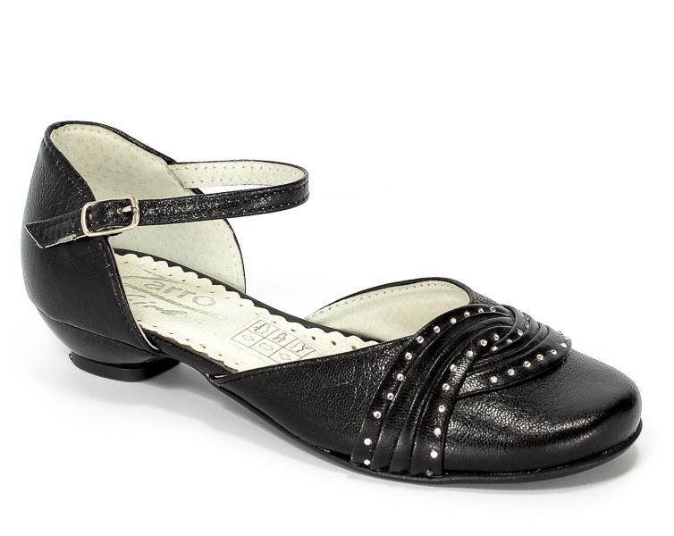 Sandały Zarro 802/12 Czarny Prz.