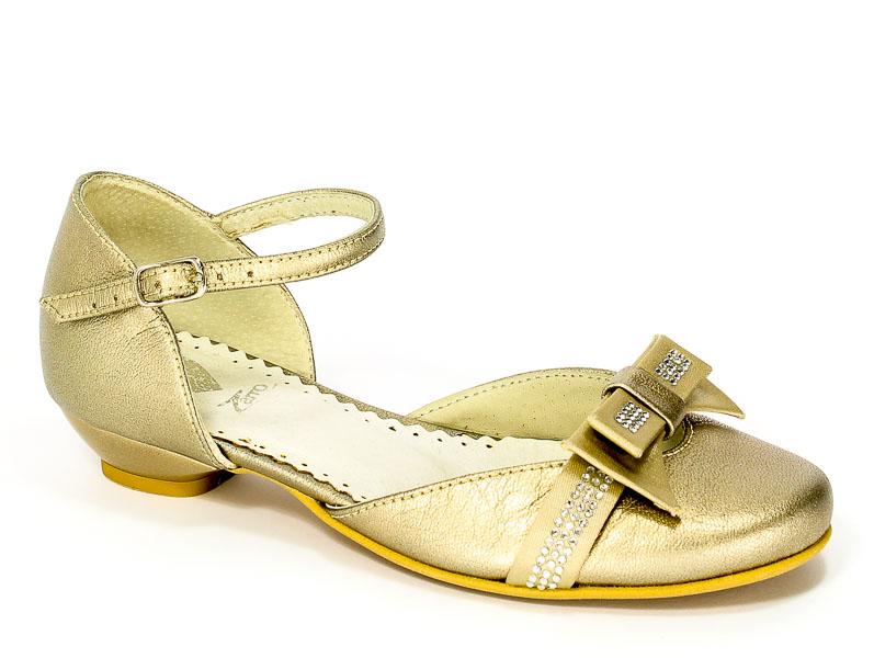 Sandały Zarro 423/10 Złoty Prz.