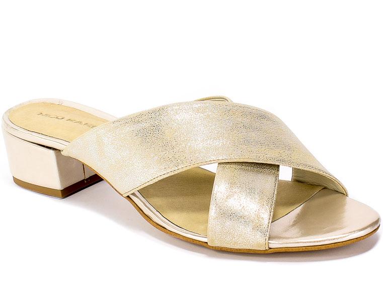 Klapki Nico Rarini 16777/78-48103 Gold