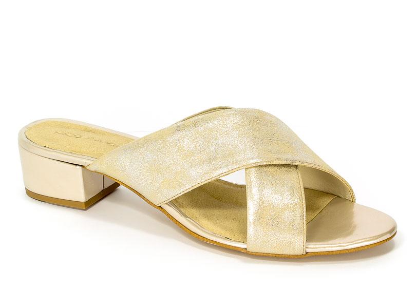Klapki Nico Rarini 16877/78-48103 Gold