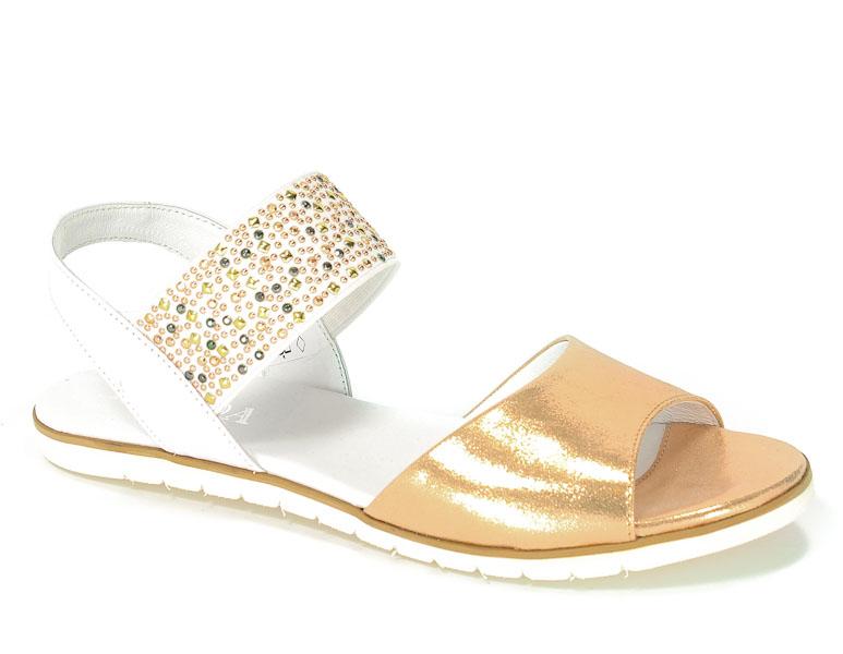 Sandały Korda 1611 Sat-M+Biały