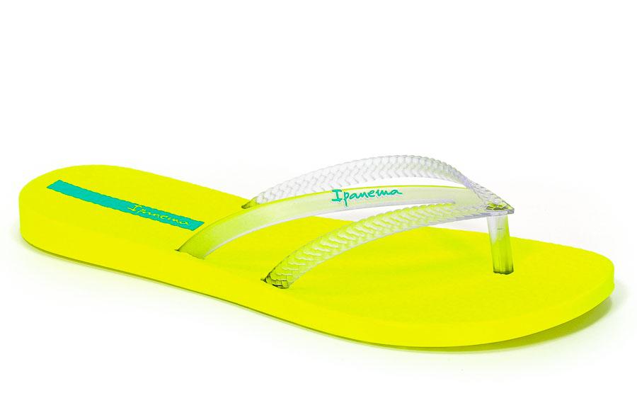 Klapki Ipanema 82067 20491 Yellow/Clear