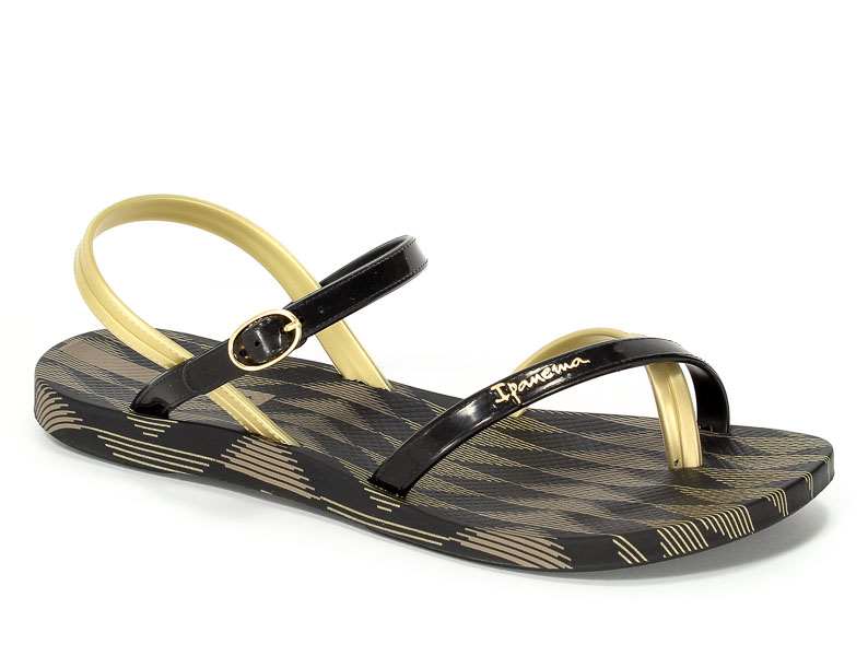 Sandały Ipanema 81929 21117 Black/Gold