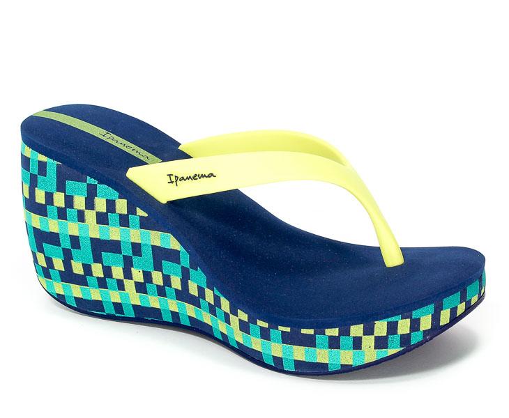Klapki Ipanema 81933 22045 Blue/Yellow