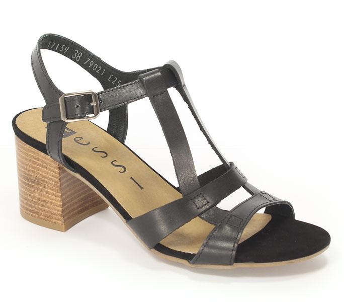 Sandały Nessi 17159 Czarny 11