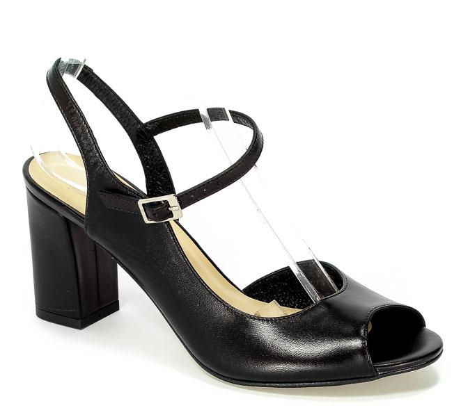 Sandały Kotyl 4323 Czarny Lico