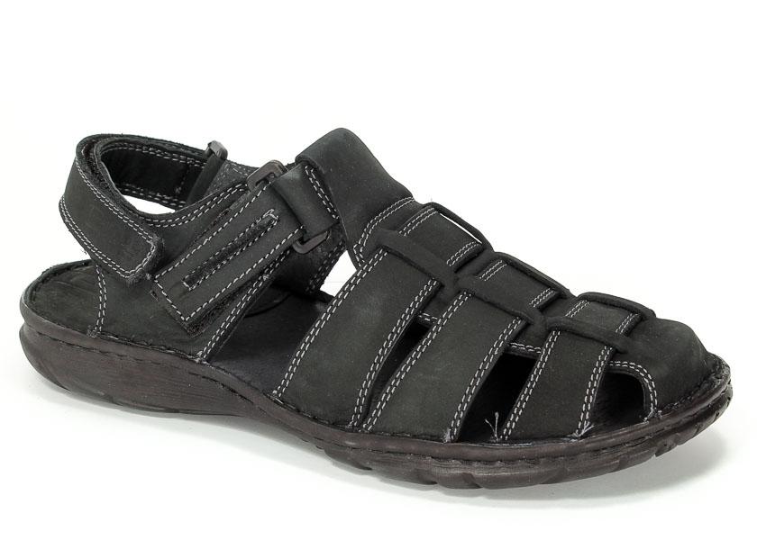 Sandały Pollonus 6103 Czarny Samuel