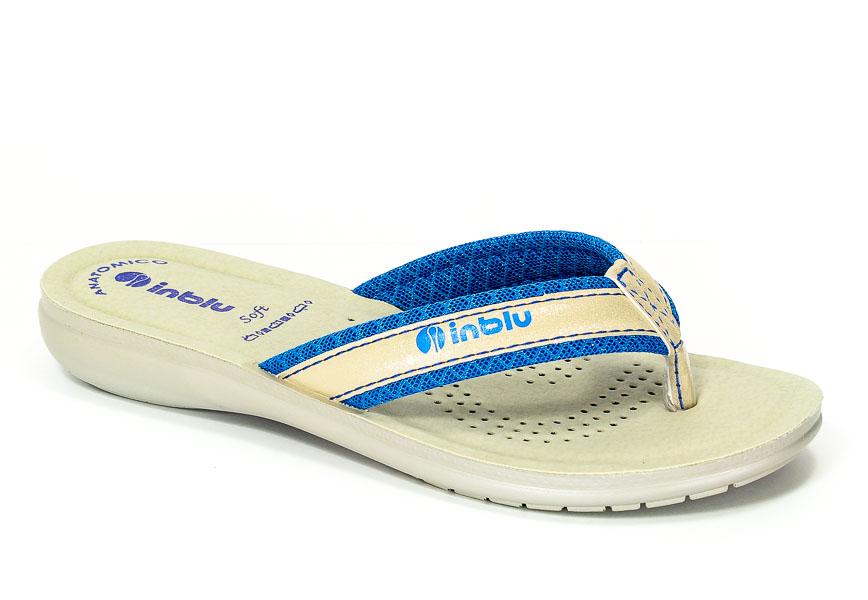 Klapki Inblu SL28 Niebieski