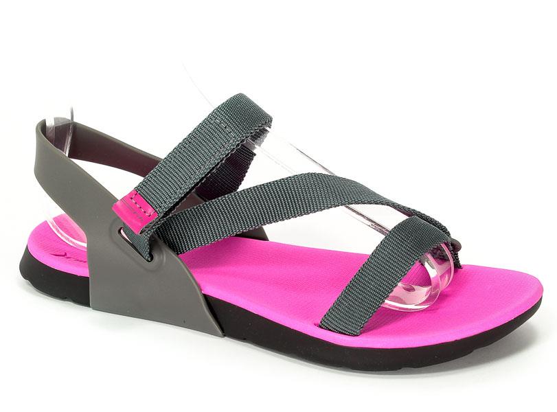 Sandały Rider 82136 24415 Black/Pink/Grey