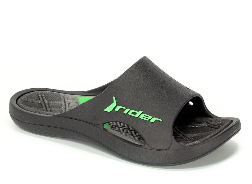 Klapki Rider 81901 24061 Black/Grey