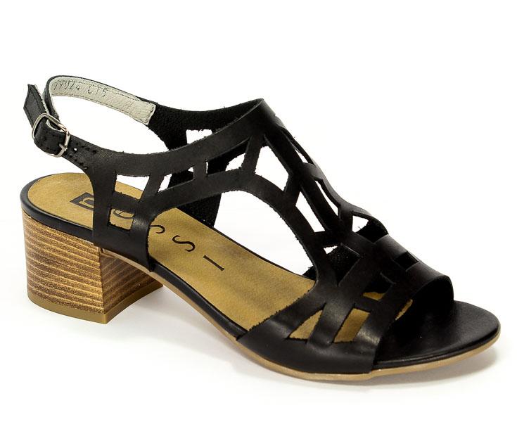 Sandały Nessi 17155 Czarny 11