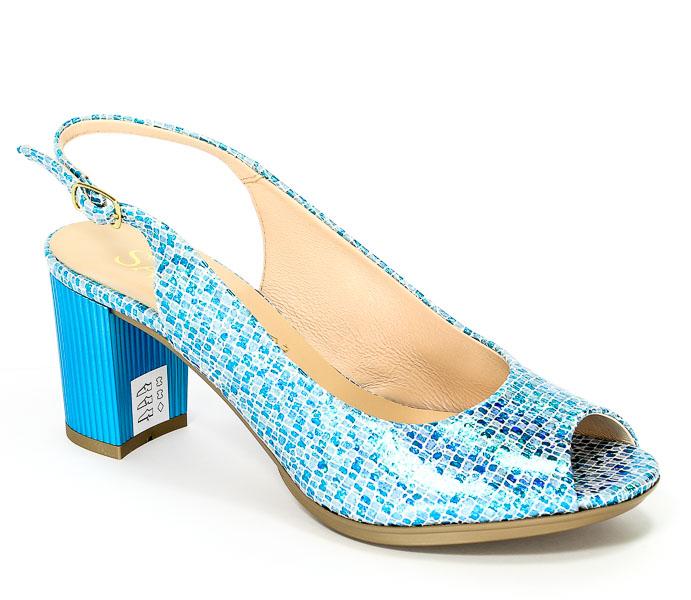 Sandały Sala 6043 Niebieski