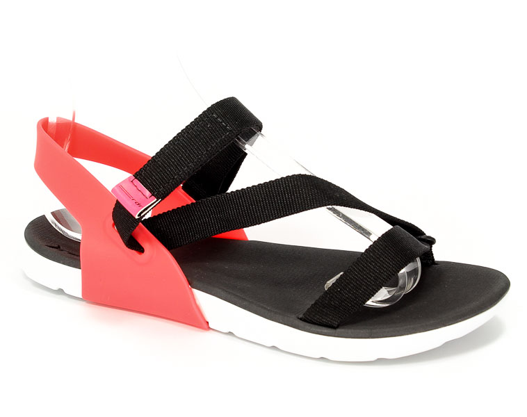 Sandały Rider 82136 21428 White/Black/Pink