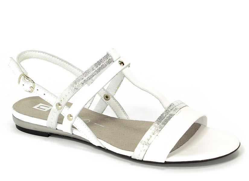 Sandały Nessi 17186 Biały 3