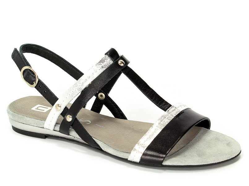 Sandały Nessi 17186 Czarny 3