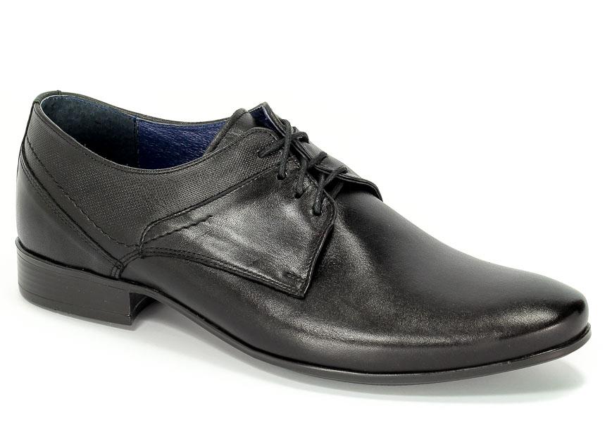 Półbuty Euro moda Nko 1622 Czarny D-4