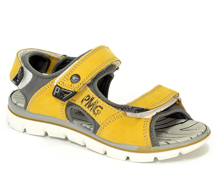 Sandały Primigi 76523/00 Nabuk/T.Giada/Giallo