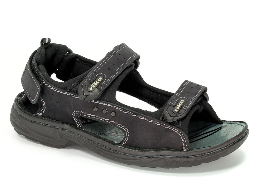 Sandały Riko 378 Cz/Kr