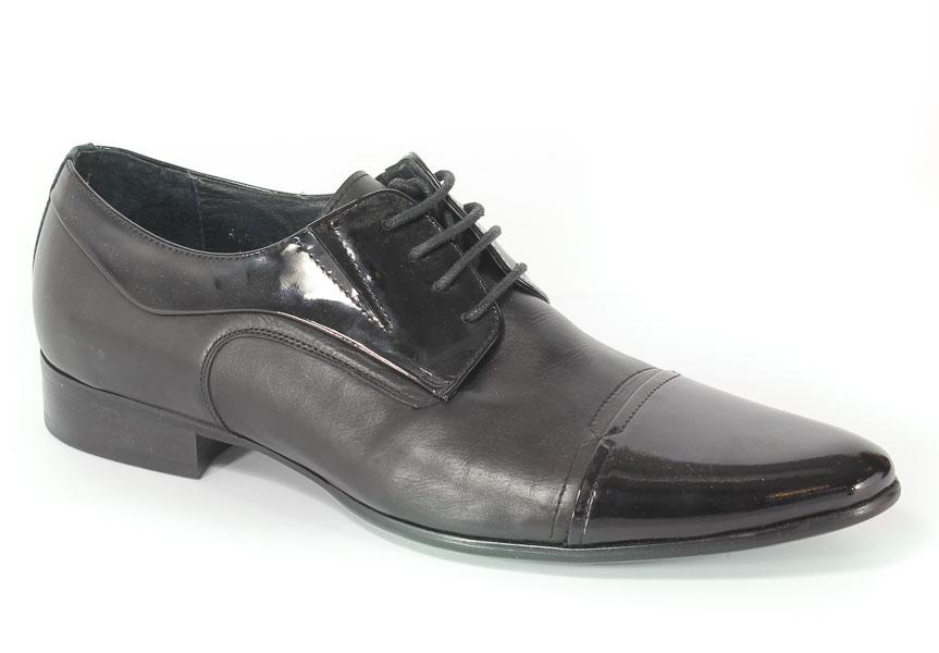 Półbuty Brooman A953-7931-3 Black