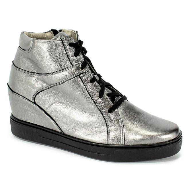 Sneakersy Eksbut 67-4695-G56-1G Srebro