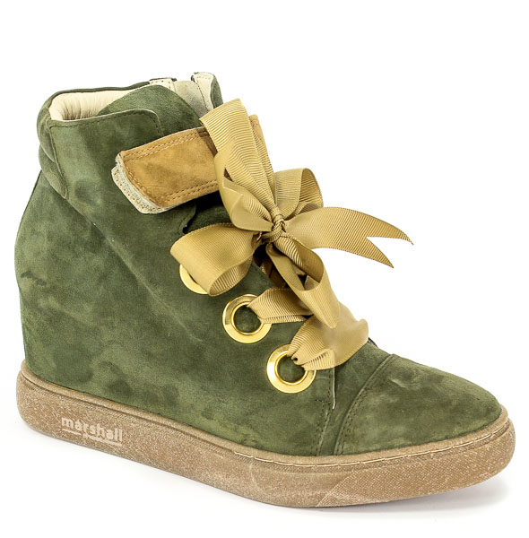 Sneakersy Marshall 6822 SŁ Z Oliv/Wiel