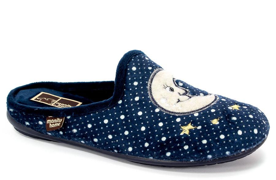 Pantofle Manitu 320470 Marine